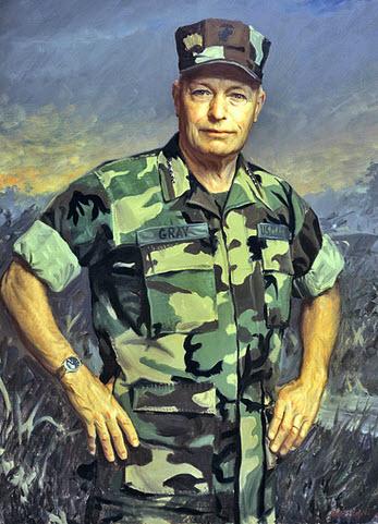 Marine General Al Gray